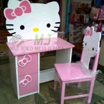 harga meja belajar hello kitty murah MJ-MB31