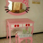 meja rias hello kitty murah MJ-MR56