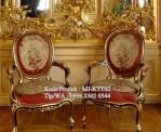 Kursi Teras Baroque Bulat MJ-KTT02