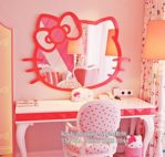 Meja Rias Anak Unik Hello Kitty MJ-MR08